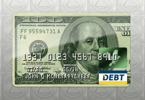 Monetary Credit Card .PSD by zandog