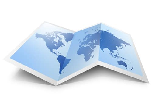 PSD world map icon