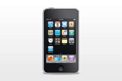 PSD: iPod touch by mppagano