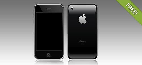 Full PSD Layered iPhone