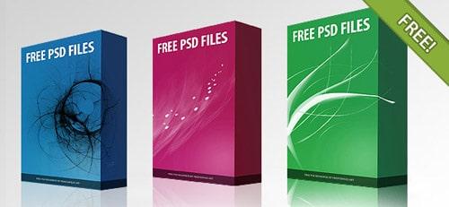 Free PSD Software Box