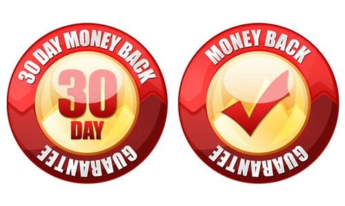 PSD 30 day money back guarantee seal