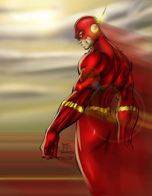 Flash by escar4