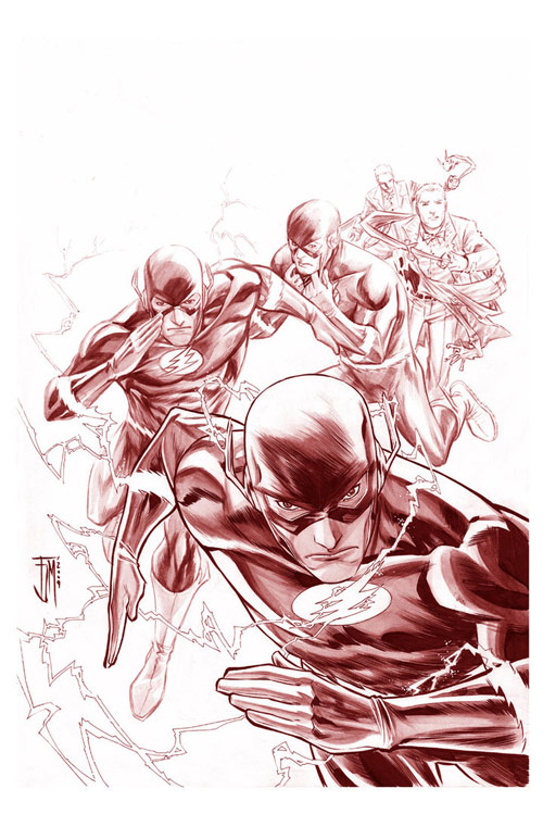 The Flash: Secret Files by manapul