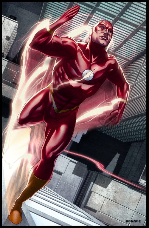 The Flash by Rennee