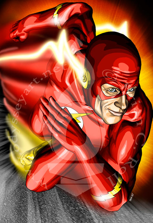 The Flash by odysseyart