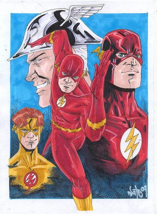 flash rebirth by snareser