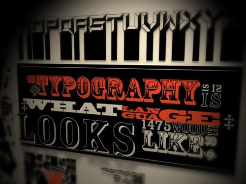Typographics By: Ryan Uhrich