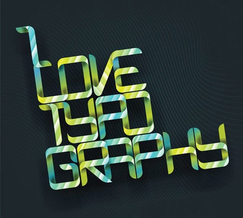 I Love Typography By: Ashish Kalpund