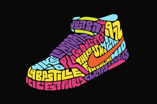 NIKEiD Illustrations By: John J. Custer