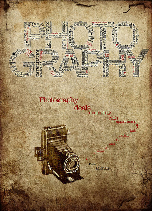 Typography/Photography