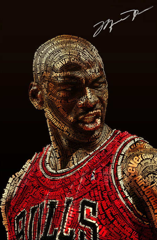 Michael Jordan Typeface By: Ziarekenya Smith