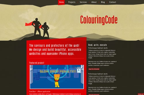 colouringcode.com