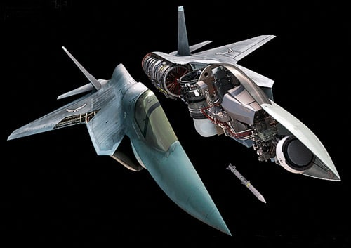 LM F35 B By: Nick Kaloterakis