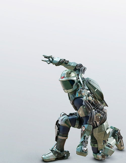 Exoskeleton By: Nick Kaloterakis