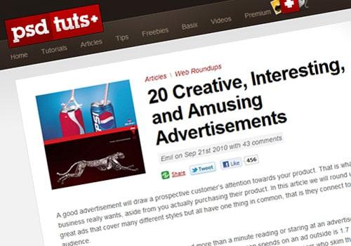 20 Creative, Interesting, and Amusing Advertisements