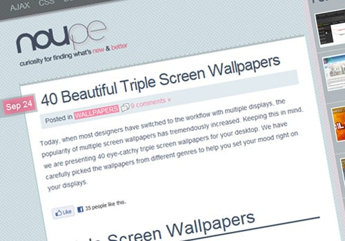 40 Beautiful Triple Screen Wallpapers