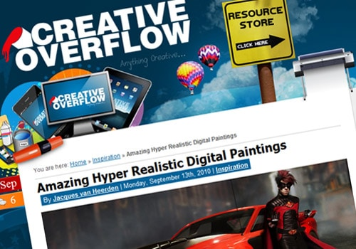 Amazing Hyper Realistic Digital Paintings