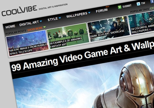99 Amazing Video Game Art & Wallpapers