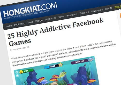 25 Highly Addictive Facebook Games