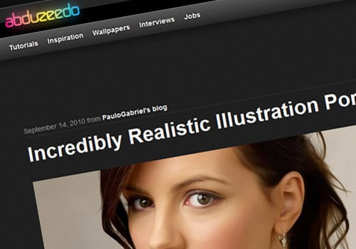 Incredibly Realistic Illustration Portraits