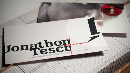 business card - Jonathon Tesch