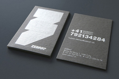 Zebra7 Business Card
