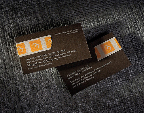 Business Card for: 3 Advertising