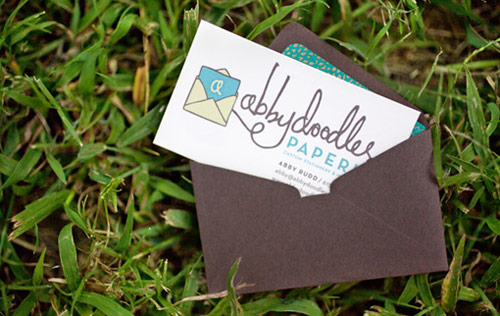 Envelope Business Cards