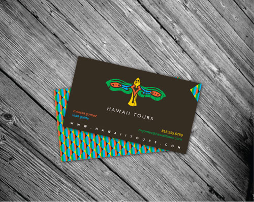 Hawaii Tours Business Card