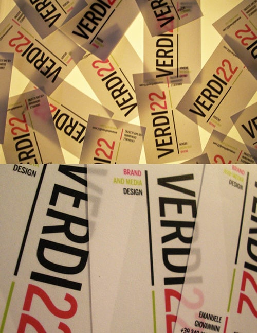 Verdi22 Business Cards