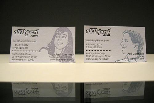 All Pop Art   Unique Letterpress Cards