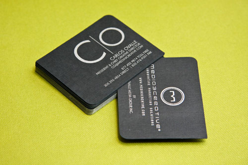 Media3Creative Business Cards