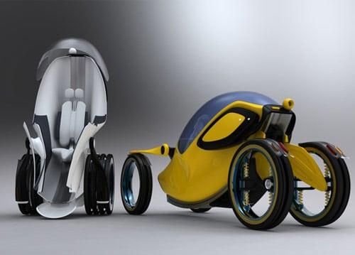Urban mobility vehicle