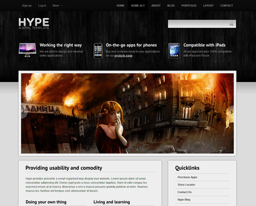 "Free ""HYPE"" PSD by DDStudios"