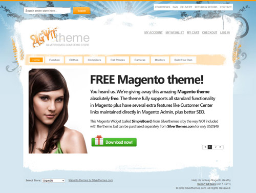 Free High-Quality Magento Theme: Sigyn SM