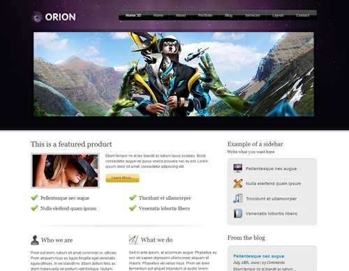 Free Orion PSD by DDStudios