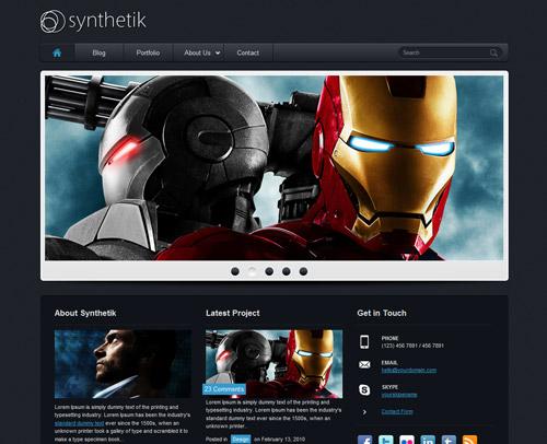 PSD Website Templates: Free High Quality Designs