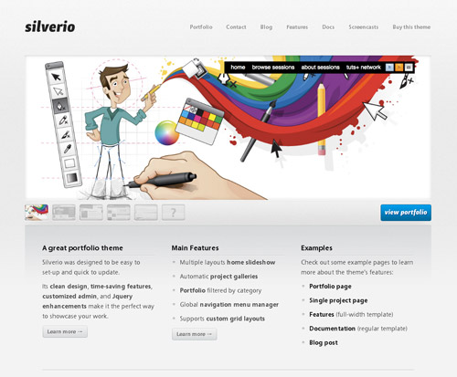 "Free ""Silverio"" PSD by SachaG"