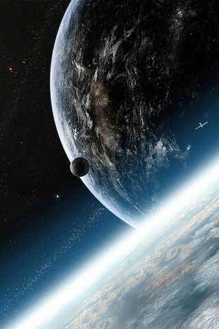 Outer space inspired iphone wallpaper designs for Outer space design richmond