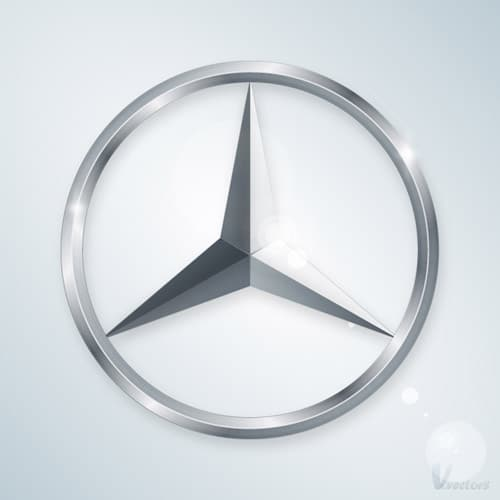 Create the Mercedes Logo