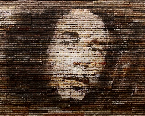How to Create a Wall Graffiti of Bob Marley