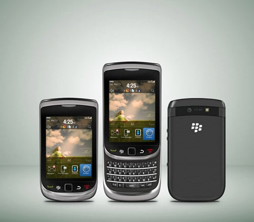 Create a Blackberry Torch Using Photoshop and Illustrator