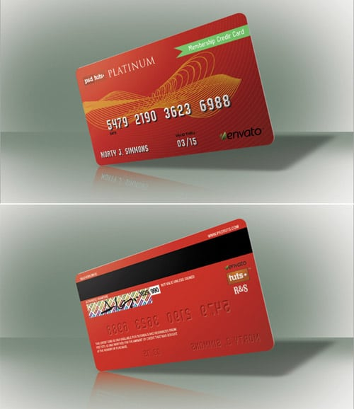 Quick Tip: Create a Realistic Credit Card in Photoshop