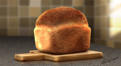 Create A Realistic Loaf of Bread in Photoshop