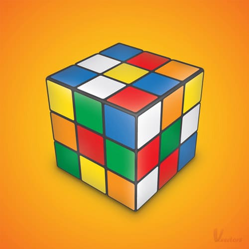 How to create a Rubik's Cube in Illustrator