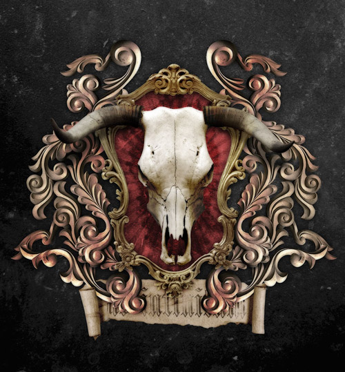 Create a Detailed Ornate Heraldic Design in Photoshop