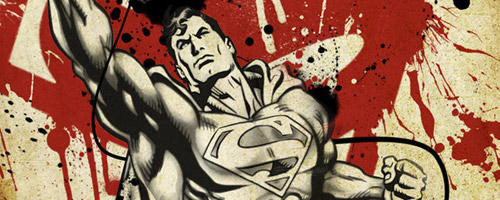 Superman: Comic Book Inspired Artwork
