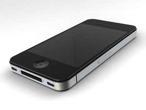 IPhone 4 SolidWorks Render