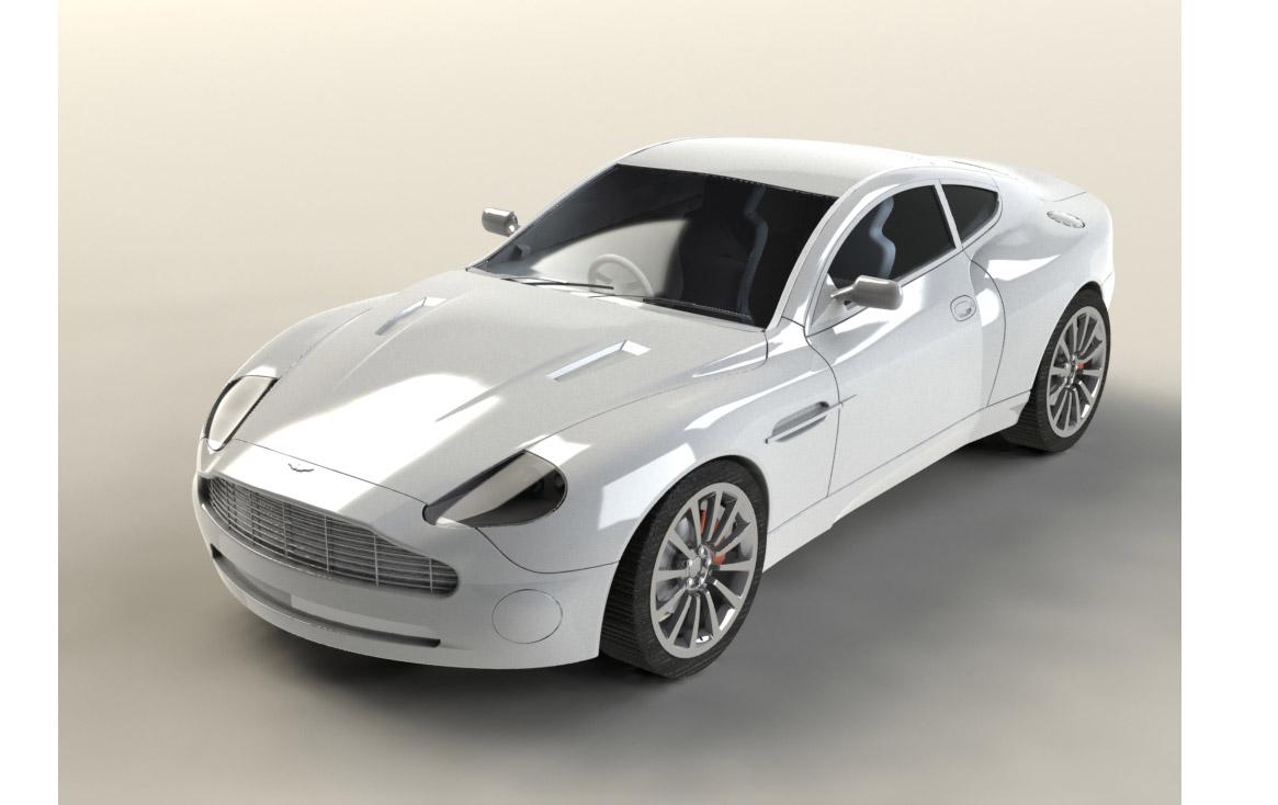 Design of car model - Sports Car